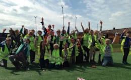 Basisschool maakt omgeving afvalvrij!